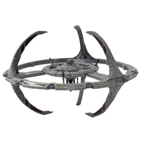 Deep Space 9 Station Star Trek - Metall Modell Eaglemoss neu 15cm
