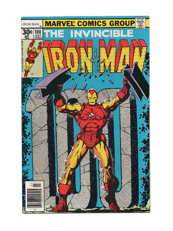 Iron Man 100 Jul 1977 Marvel For Sale Online Ebay