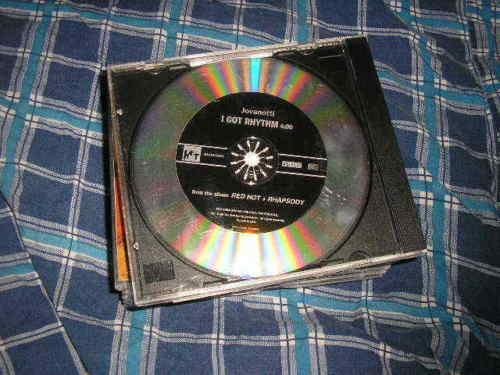 CD Ethno Jovanotti I Got Rhythm 1Song RED HOT promo