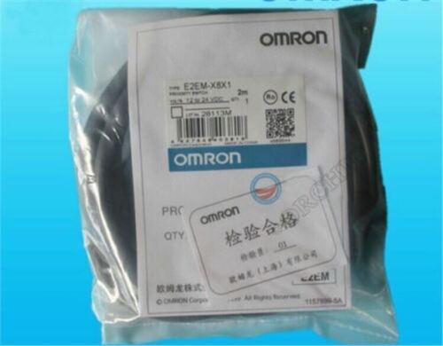 1Pcs New Omron Proximity Switch E2EM-X8X1 12-24VDC uk