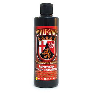 WOLFGANG-Paintwork-Polish-Enhancer-Pre-Wax-16-oz-473ml-Brand-New