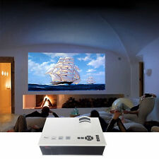 HD Home Theater Multimedia LCD LED Projector DVD TV Paystation + Free glasses