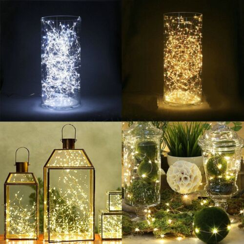 2//3//4m LED Strings Copper Wire Fairy Lights Christmas Wedding Party Decoration