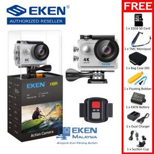 ORIGINAL-EKEN-H9R-12MP-4K-Ultra-HD-Action-Camera-FULL-Package-SILVER