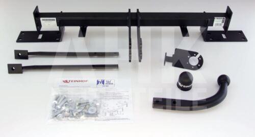 Kpl AHK Fiat Panda III 5-Tür ab 12 Anhängerkupplung starr+ES 13p uni
