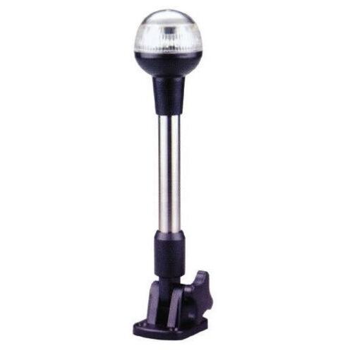 FEU DE MOUILLAGE A LED EN PVC SUR TUBE INOX 240 MM