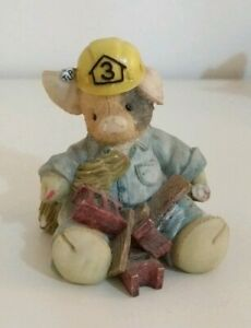 TLP-This-little-Piggy-034-What-a-Handy-Hog-034-Builder-Pig-Figure-Collectable-Enesco