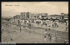 Cartolina - OSTIA MARE Lido ( Roma ) Spiaggia - Viaggiata 1931 Postcard