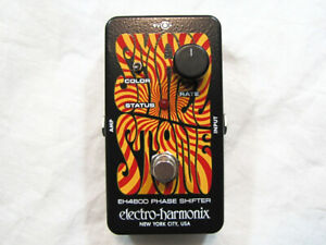 Used Electro-Harmonix EHX Small Stone Analog Phase Shifter Effects Pedal