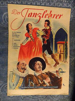 * * Félix Lope De Vega * * - Mosfilm, Udssr 1952 - ,, ., Der Tanzlehrer ,, ,,