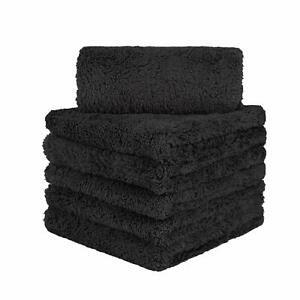 6-Pcs-Edgeless-Ultra-Plush-Microfiber-Car-Drying-Towels-Wash-Buffing-Detailing