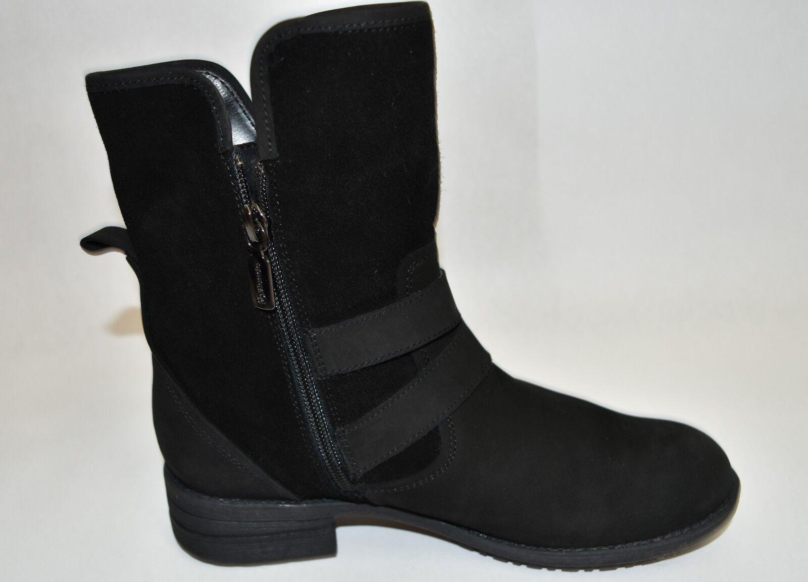 Blondo 'Tula Waterproof Boot' Boot' Boot' Black Suede Nubuck Size 7.5 M  T26 61afa0