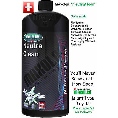 Maxolen NeutraClean 1000ml, Concentrated pH-neutral, Shampoo/Universal Cleaner