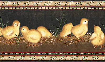 CHICKS AND MORE CHICKS AREN/'T THEY CUTE Wallpaper bordeR Wall