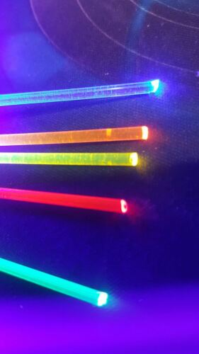 "Handgun Fiber SALE 4 x1-1/""  2mm//.080/""  NEON Fiber replacement for Guns Bows"