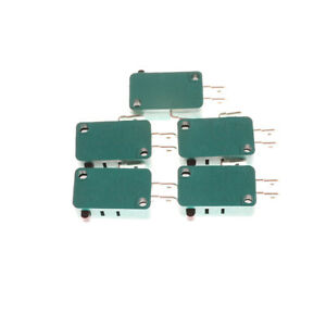 5Pcs Normally Open Close Limit Switch KW7-0 15A 16A Micro Switch T xbJKLU