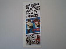 advertising Pubblicità 1984 STILMOTOR e VESPA e PIAGGIO CIAO 50