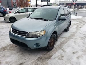 Mitsubishi Outlander 2007 AWD 4 cyl.  Financement Disponible