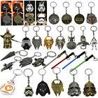 Star wars Millenium Falon Stormtrooper Lightsaber Metal Keyring Keychain Toy