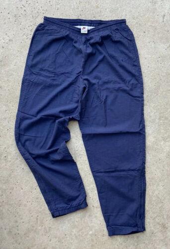 Nike Vintage 1990's White Tag Navy Blue Windbreake