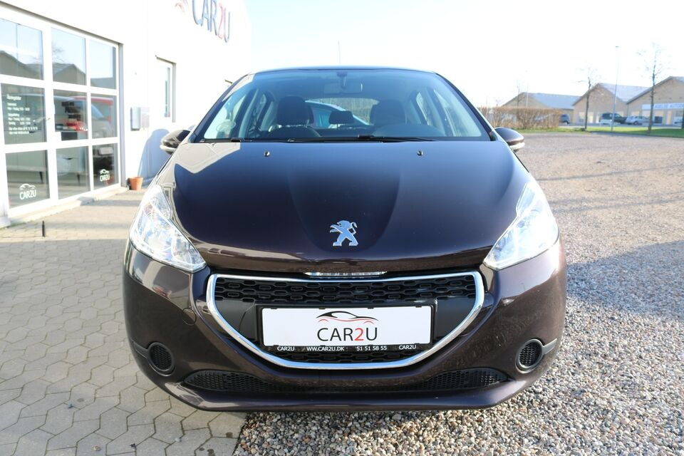 Peugeot 208 1,2 VTi Active Benzin modelår 2012 km 110000