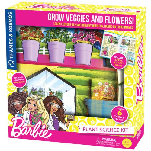 Thames /& Kosmos Barbie Plant Science Kit Botany /& Biology Experiments /& Story