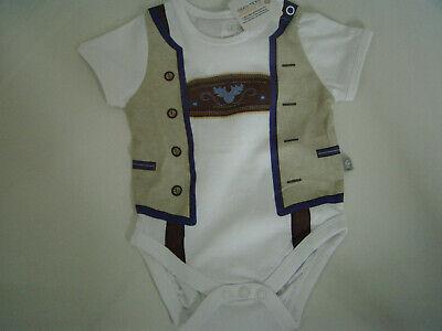 Baby Body Lederhose Liegelind Strampler Tracht Gr 74 Trachtenbody Wiesen NEU