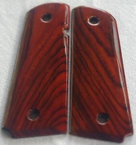 1911 FULL SIZE GRIPS COCOBOLO COLT, ED BROWN, SMITH & WESSON, PARA Kimber S-20