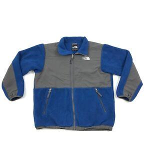 e893c1d13 Details about THE NORTH FACE Boys Denali Fleece Jacket Size XL Kids Blue  POLARTEC Full Zip