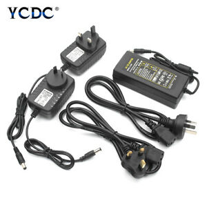 1pc 12V 2A 4A 5A 6A Adapter Power Supply Converter Charger Input AC 110V 220V Ou