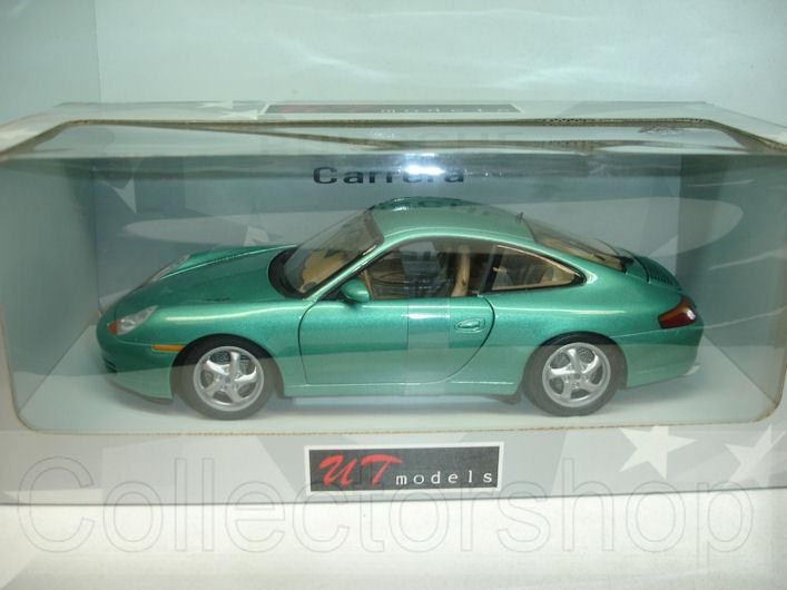 UT Models   Porsche 996 Coupe verde metallic  1 18