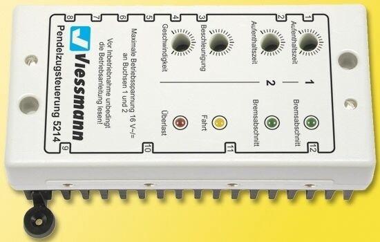 Viessmann 5214 Pendelzugsteuerung, von Z bis LGB    Wirtschaftlich und praktisch