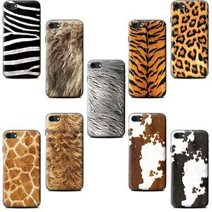 Gel-TPU-Phone-Case-for-Sony-Xperia-Z-Smartphone-Animal-Fur-Effect-Pattern-Cover
