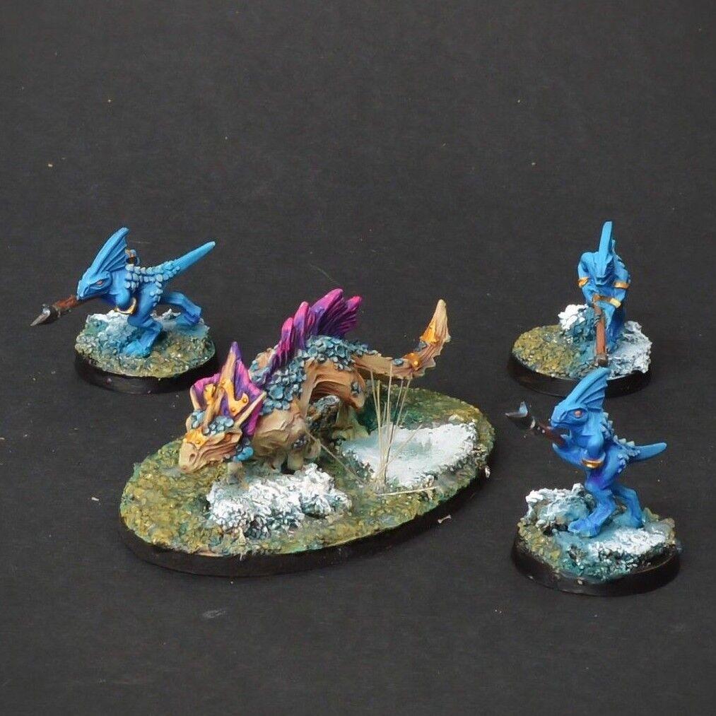 Salamander age of sigmar seraphon lizardmen  COMMISSION  painting