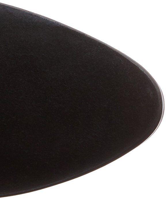 Gran descuento Sobre RP150 Aldo Jeffres Negro Cuero Gamuza Real Sobre descuento Rodilla Muslo Botas Largas 923e96