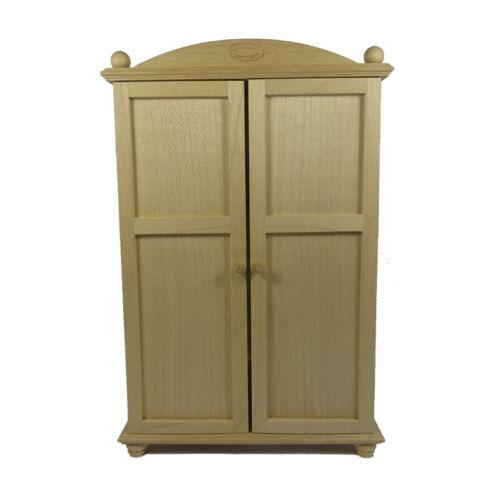 # 716 Amor a mano 46025 sueño habitación armario arce 1:12 para casa de muñecas nuevo