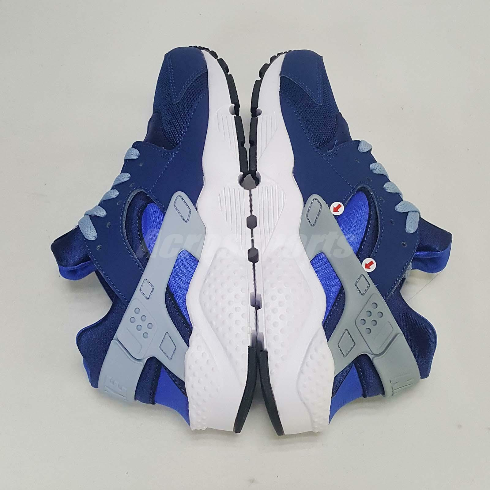 Huarache Run Foot GS Left Foot Run Discoloration Stain Bleu Kids Femme Running 654275-406 930924