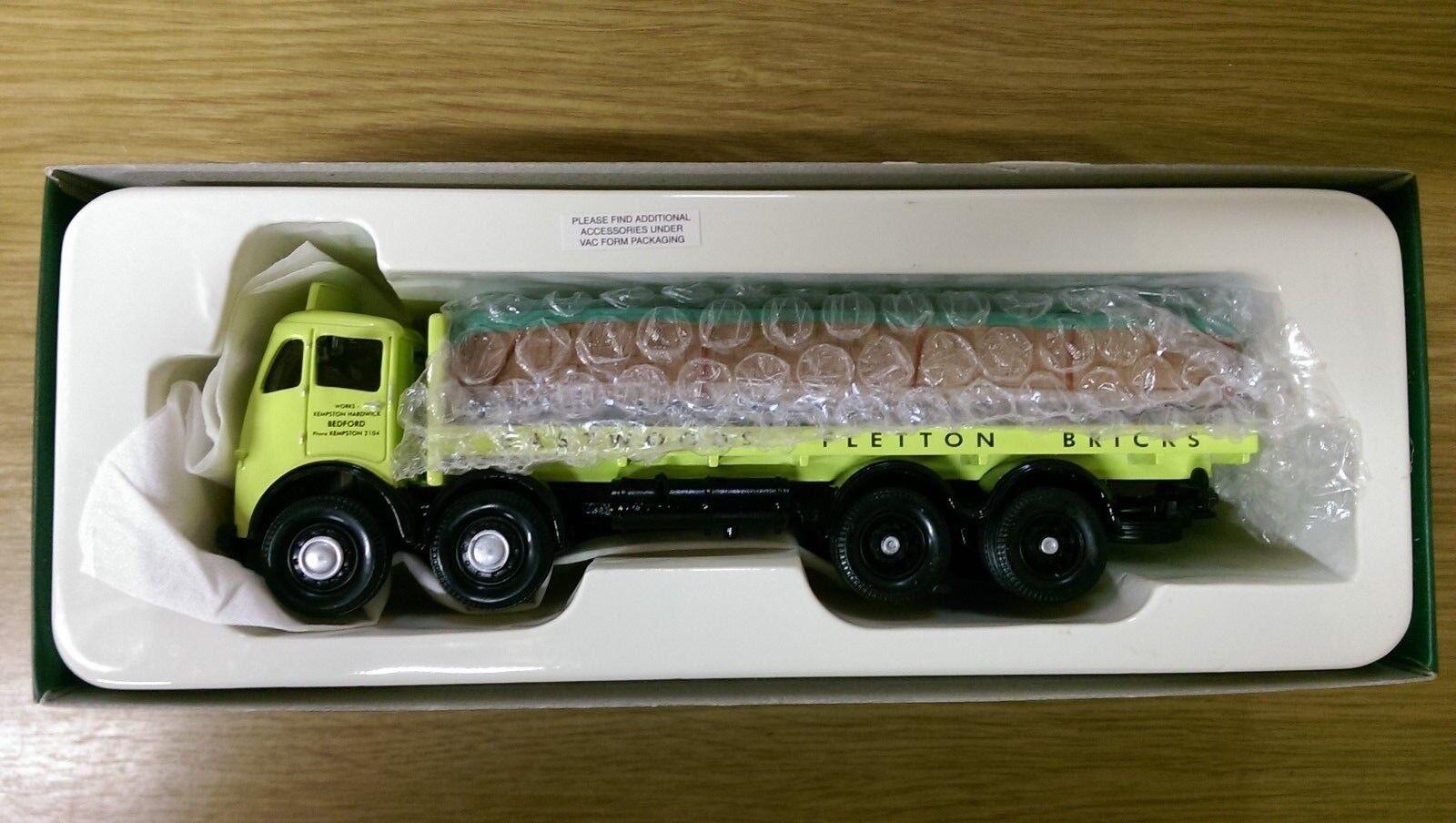 suministro de productos de calidad Corgi Corgi Corgi 12302 Foden FG 8 Rueda Plataforma Camión & ladrillos Ltd Ed. Nº 2000 de 2000  ordenar ahora