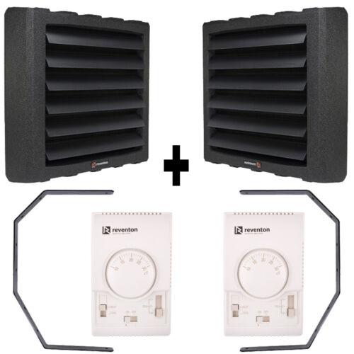 Reventon HC50-3S 2 Stück 65,8kw • /& Thermostat mit Regler /& Konsole