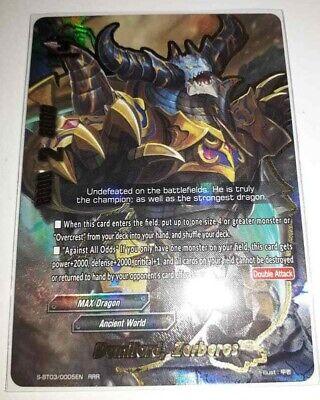 """BFE S-BT03//0002EN RRR Gargantua Dragon /""""Gattling Mode/"""" S-BT03//0002EN Buddyfight"""