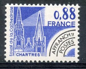 STAMP-TIMBRE-FRANCE-NEUF-PREOBLITERE-N-163-CATHEDRALE-DE-CHARTRES