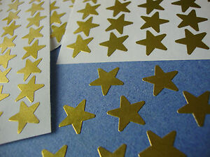 270-Sticky-Coloured-Metallic-Merit-Stars-12mm-Self-Adhesive-Assorted-Colours