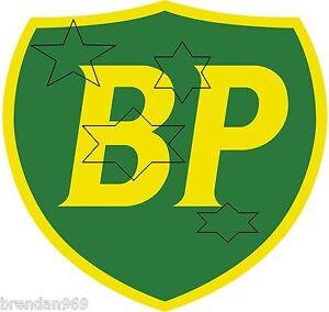 VINTAGE-BP-GASOLINE-PETROL-DECAL-STICKER-LABEL-DIA-240-MM-HOT-ROD-BOWSER