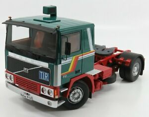 ROAD-KINGS 1/18 VOLVO   F12 TRACTOR TRUCK 1977   GREEN RED
