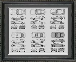 Blueprint art nissan auto collection car artwork gift print image is loading blueprint art nissan auto collection car artwork gift malvernweather Image collections