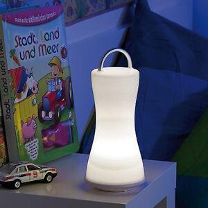 LED-LATERNE & TISCHLAMPE Livinglight Mini - kaltweiß - NEU & SOFORT
