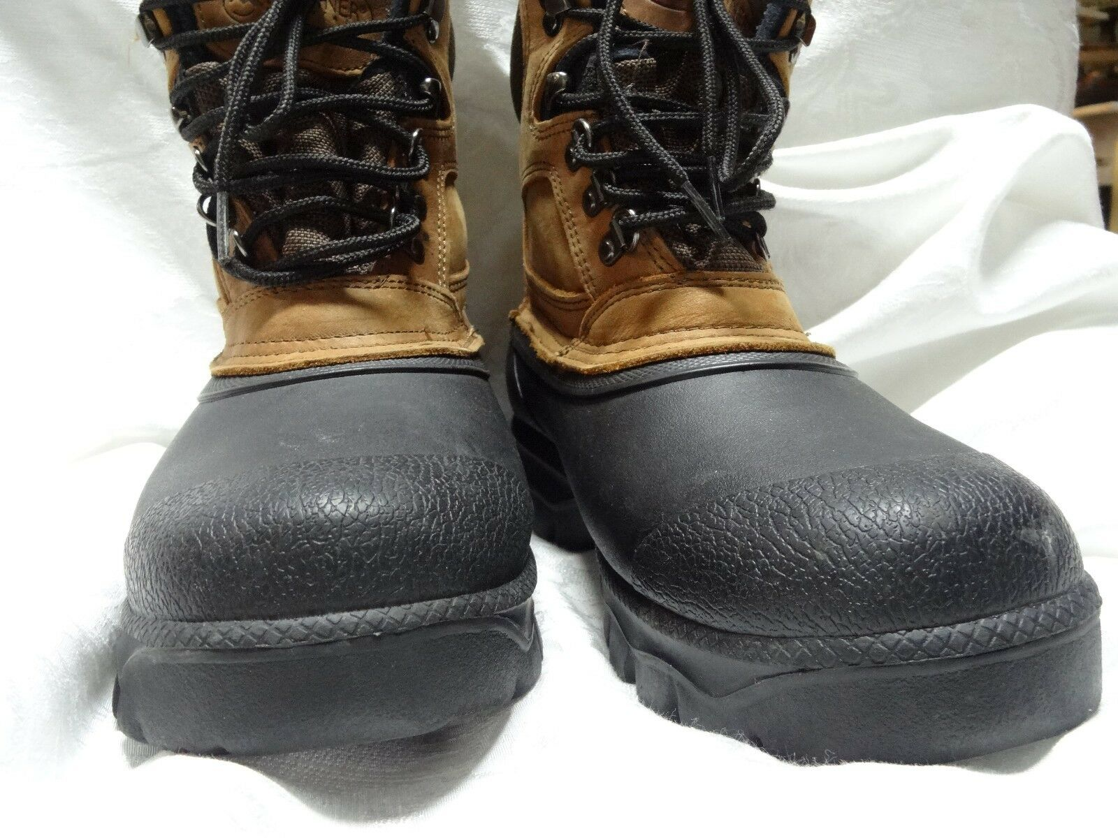 Donner Mountain Leather/Rubber Insulated Boots, Men's 11M