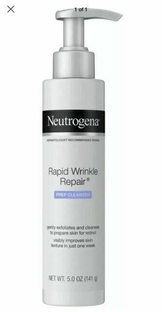 Neutrogena Rapid Wrinkle Repair Prep Cleanser 5 Oz 7x For Sale Online Ebay
