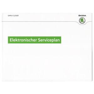 Skoda-Maeppchen-Elektronischer-Serviceplan-Serviceheft-Deutsch-Octavia-Fabia-Yeti