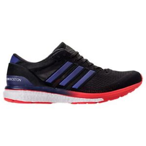 MENS ADIDAS ADIZERO BOSTON 6 RUNNING BLACK/PURPLE SHOES MEN'S SELECT YOUR SIZE